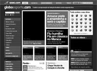 Wireframe - Globo Esporte (por Felipe Memória)